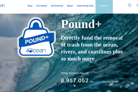 4Ocean- Cleaning the ocean one pound at a time