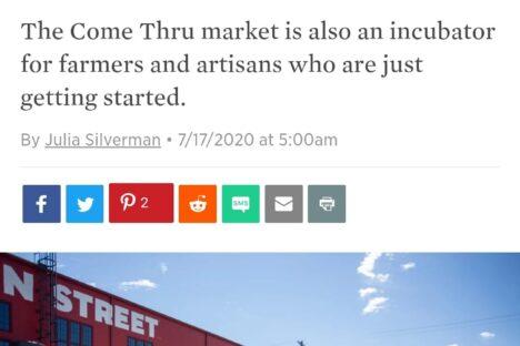 PDX Monthly: Come Thru Market