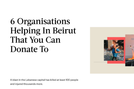 Aid To Beirut