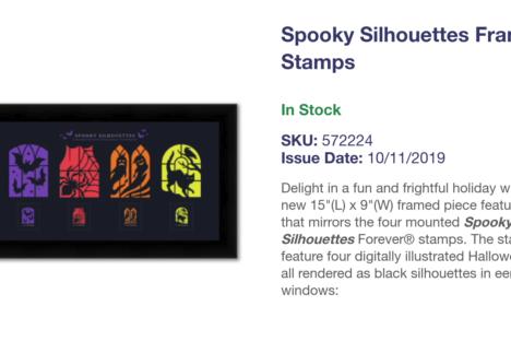 Halloween Stamps #saveUSPS